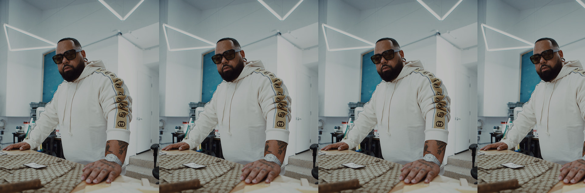 How Sheron Barber transformed his underdog roots and passion for creation into a custom design practice catering to names like Rihanna and Drake.