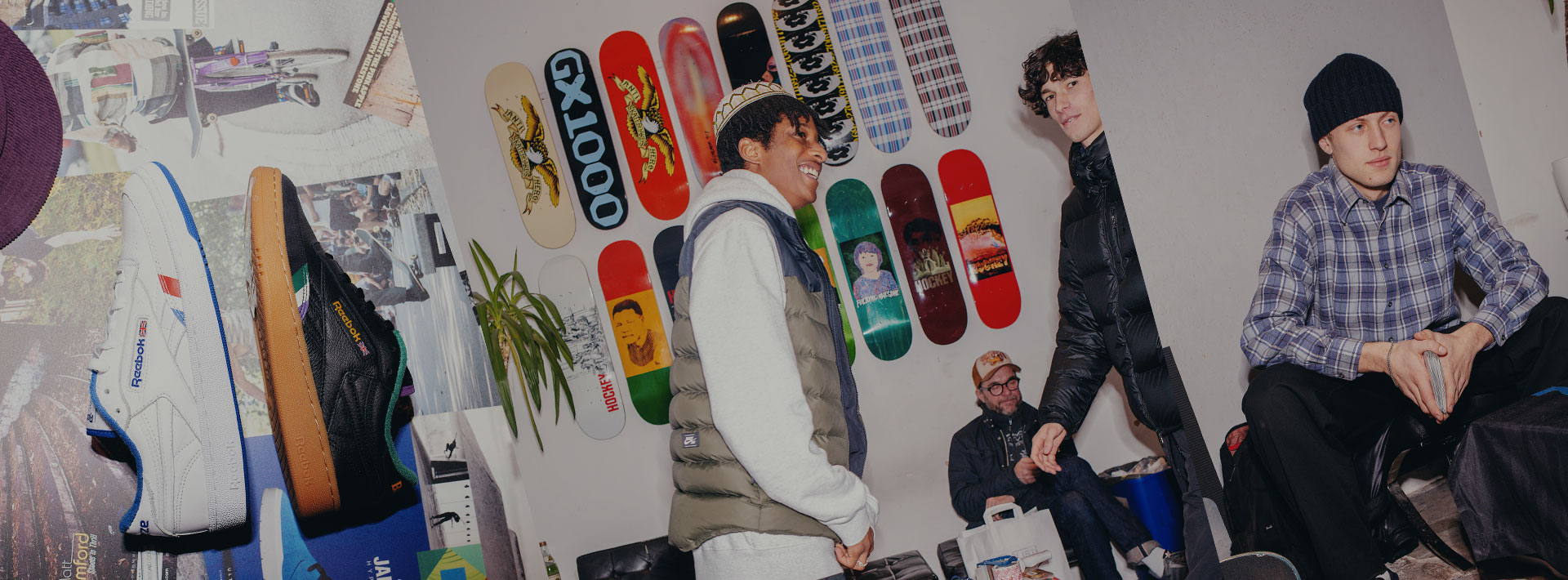Sk8 lthr snkrs nd skateboarding stuff that could be featured in an art gallery. Meet CIVILIST, *the* place in Berlin for knocking around nd cop the best kicks.
